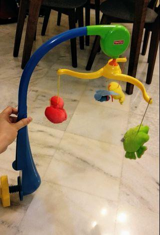 Fisher Price Cot Musical Hanging Mobile.