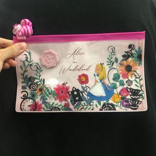 7-11 小木偶 Alice 透明隨行袋