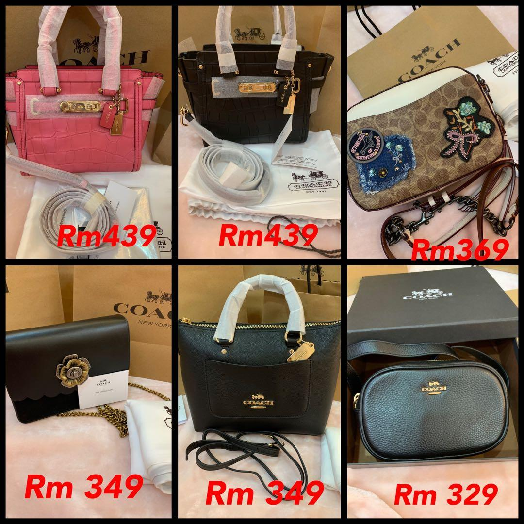 (26-05-19)Authentic Coach ready stock Tory Burch backpack card holder hhhjnwallet purse backpack wristlet ready stock listing