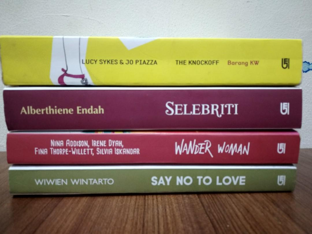 4 METROPOP Novel + 1 novel bonus