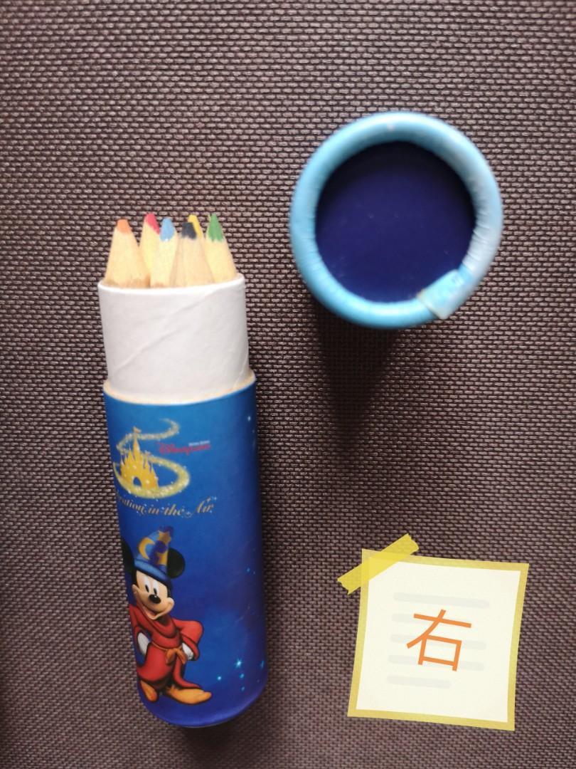 迪士尼5週年 木顏色筆