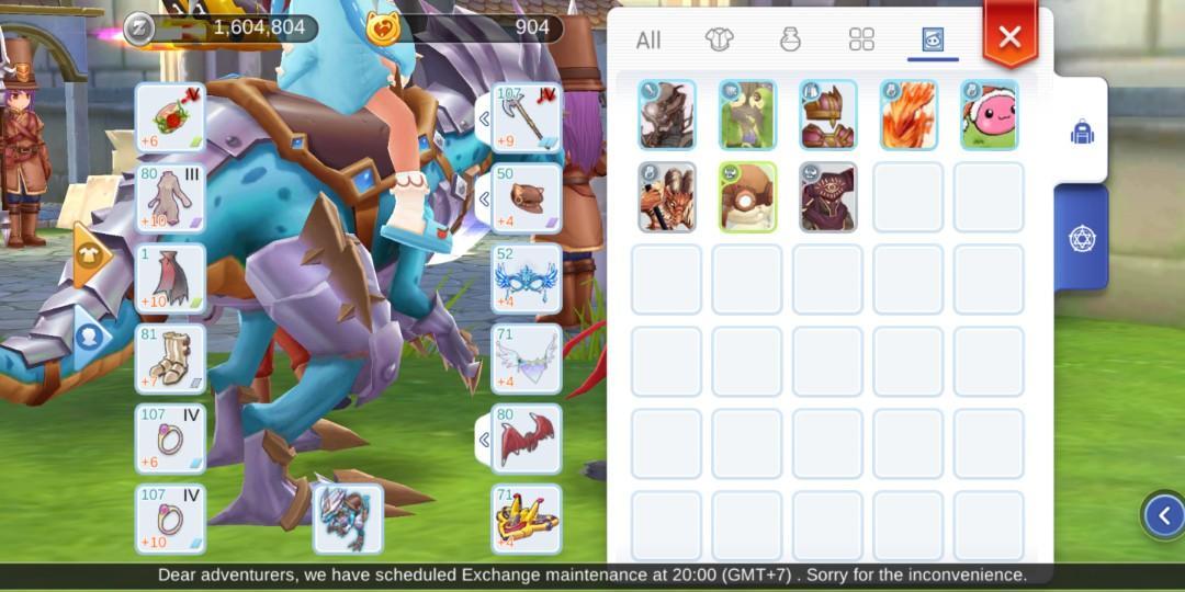 6k raw atk-Rune Knight Ragnarok Mobile-$2k, Toys & Games