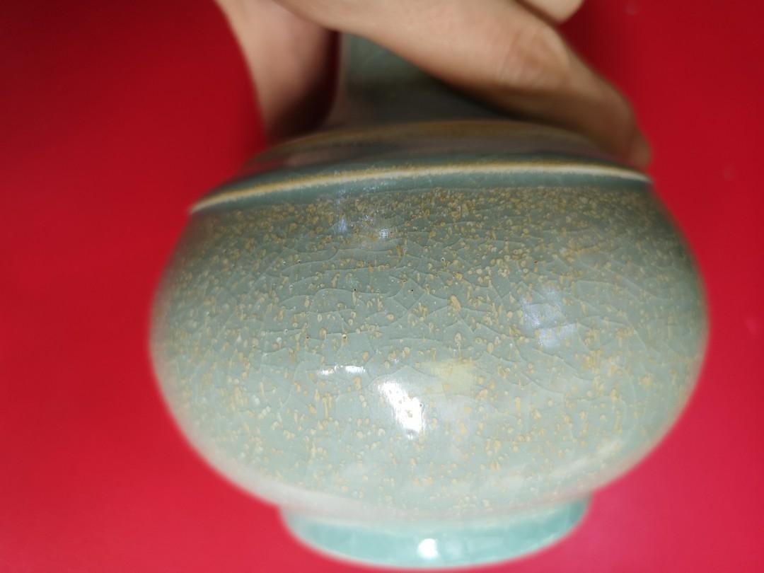 汝州窑小花瓶,保存完好