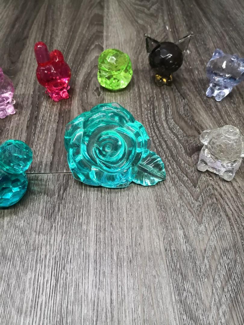 卡通塑膠鑽石