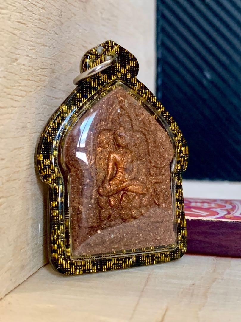 泰國佛牌 61靈坤平帕頌甲 阿贊炳徒弟 阿贊雷 繼承阿贊炳力量的聖物
