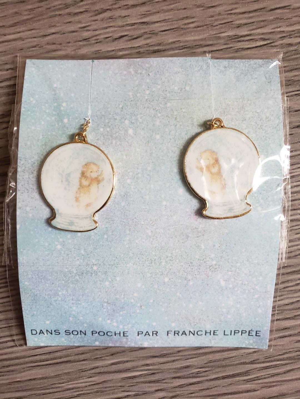 全新 Franche lippee 耳環