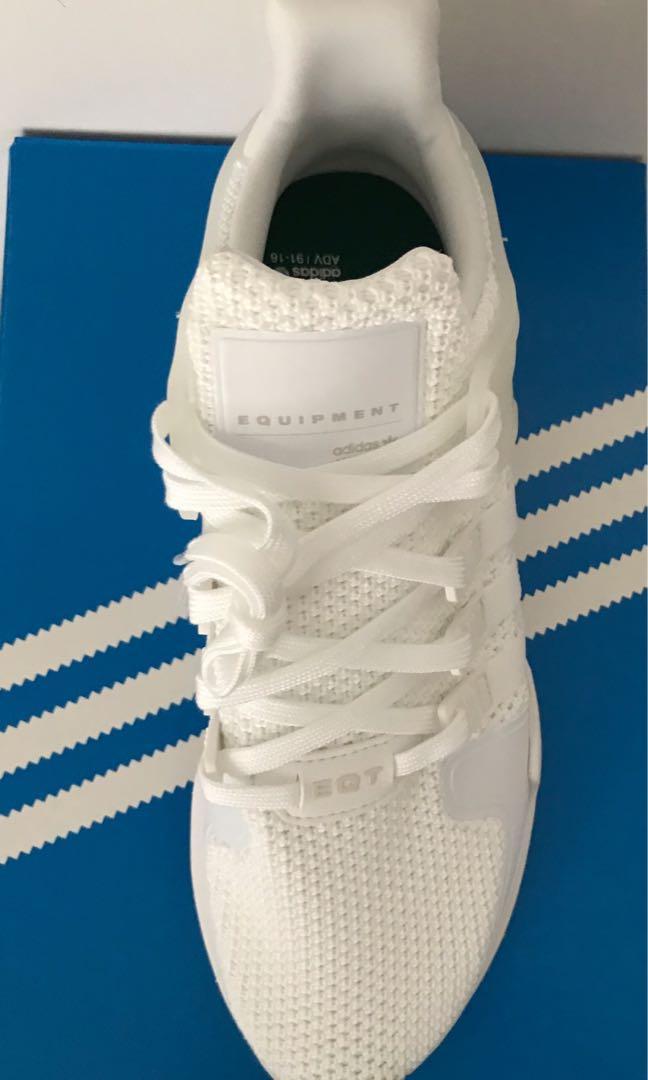 Adidas Originals EQT Primeknit - Women's 8.5 White