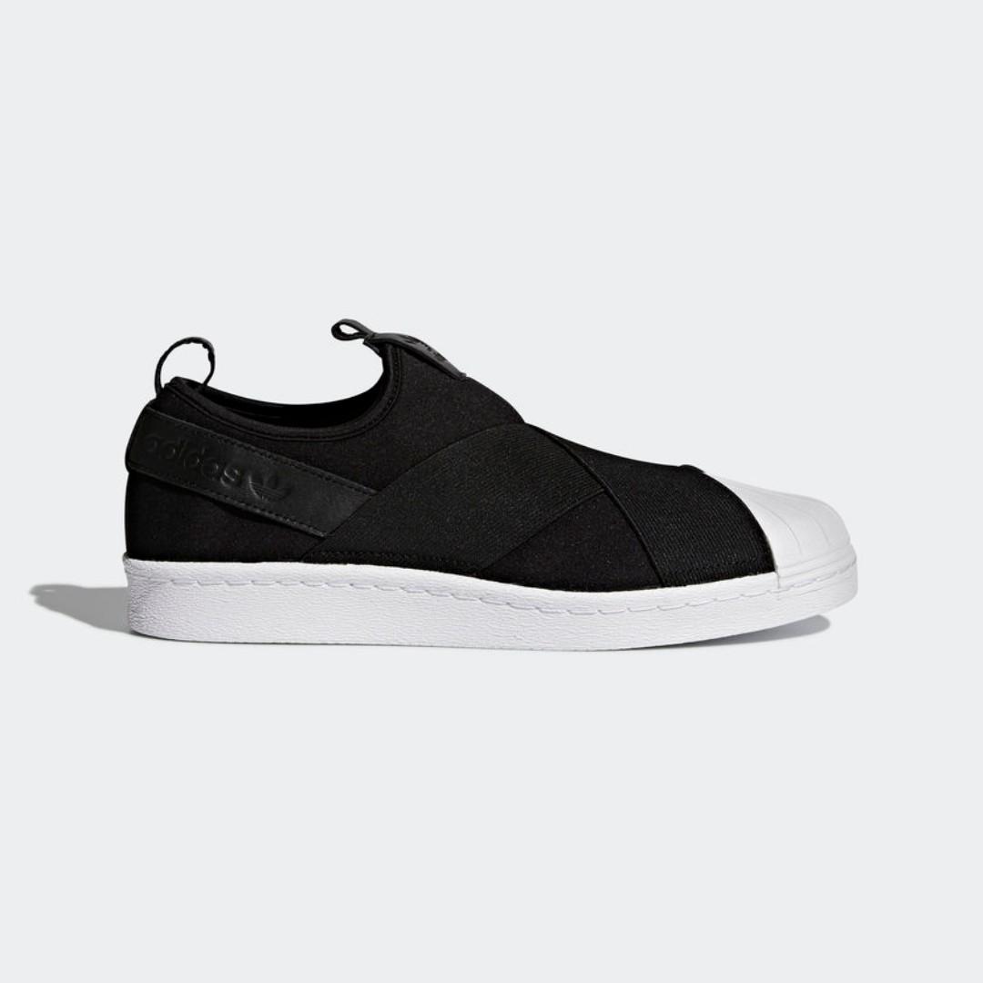 low priced 434cf 1b1af Adidas Superstar Slip-On Shoes