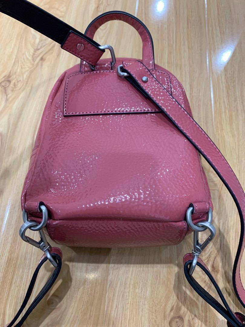 Authentic Calvin Klein mini backpack/crossbody bag