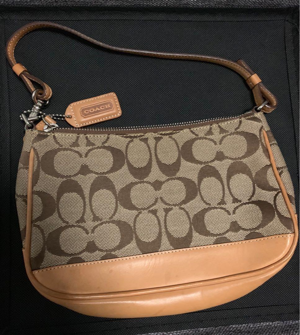 Authentic Coach Small Carry Bag