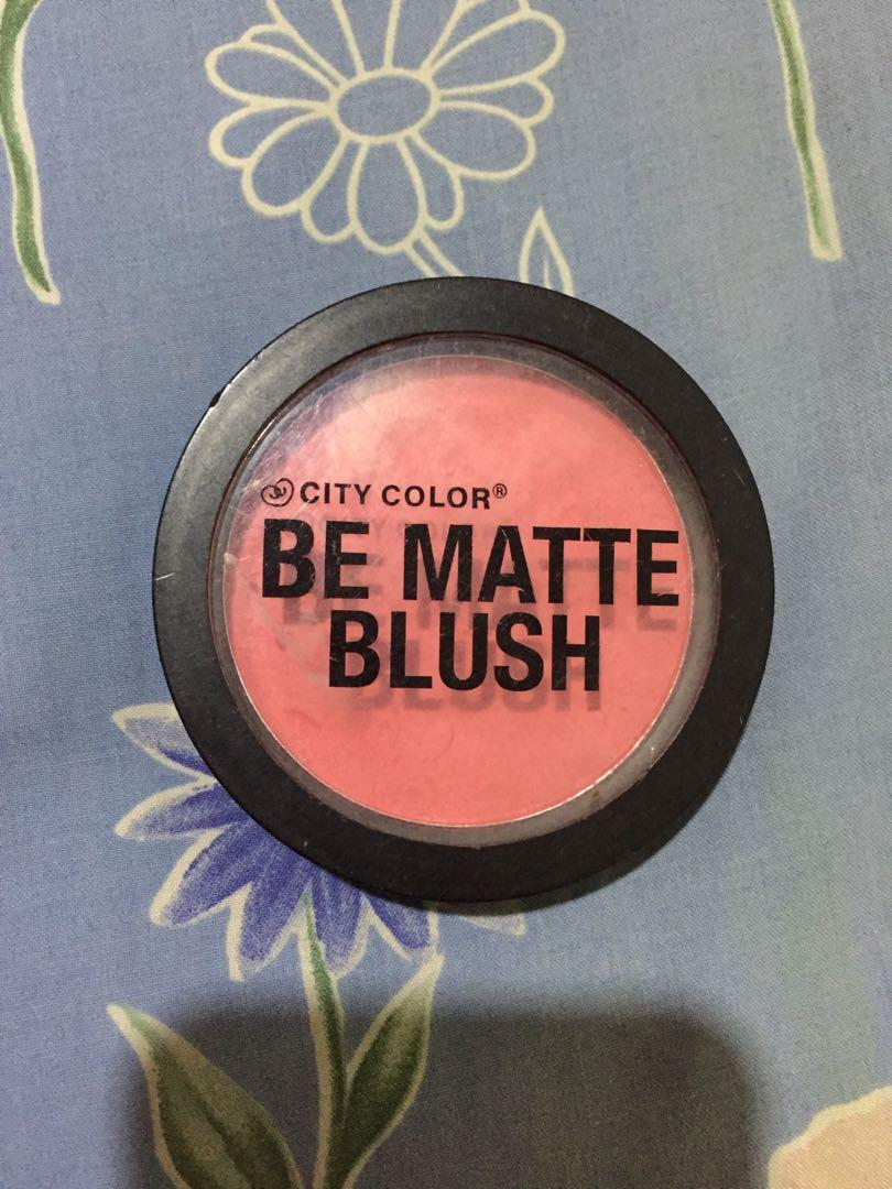 Be Matte Blush City Color