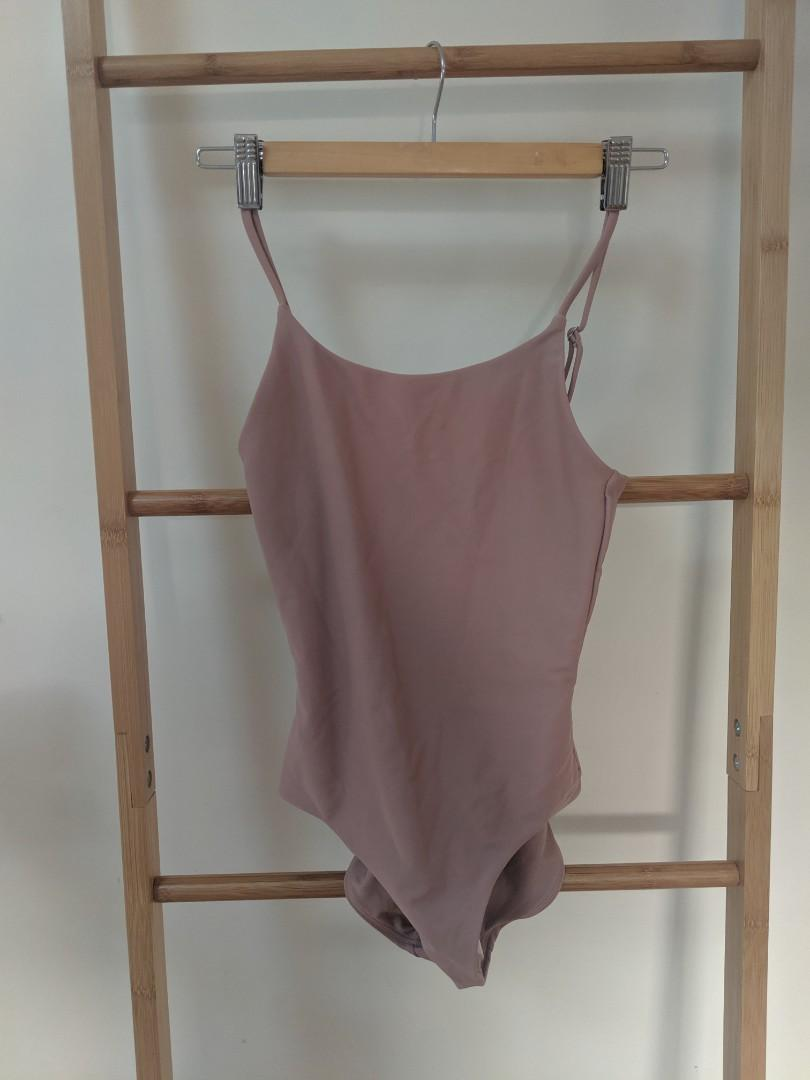 Blush pink never worn assembly the label one piece swimsuit
