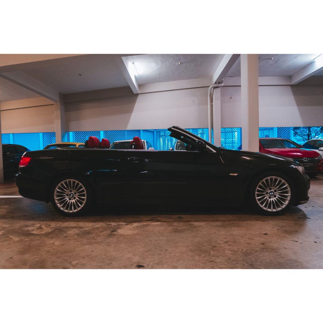 BMW 325I CONVERTIBLE FOR RENT