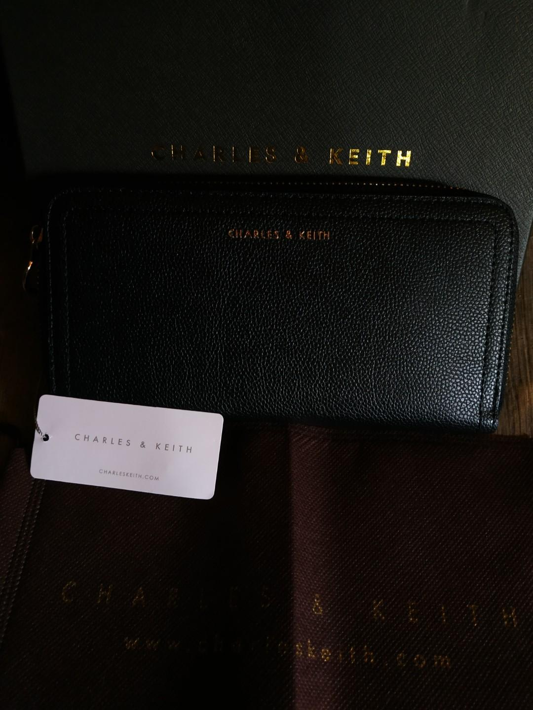Charles & Keith Wallet (reprice)