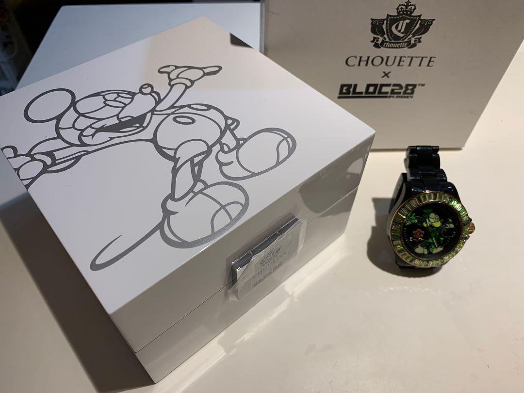 Chouette x Bloc28 Mickey 限量版手錶