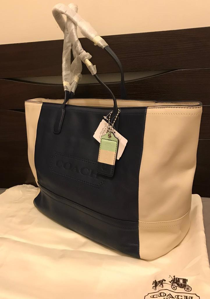 Coach Legacy Weekend leather Tote Bag