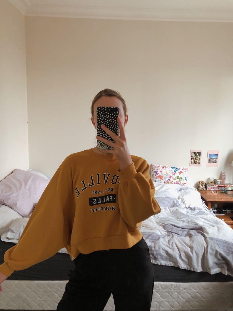 Comfy Mustard Jumper