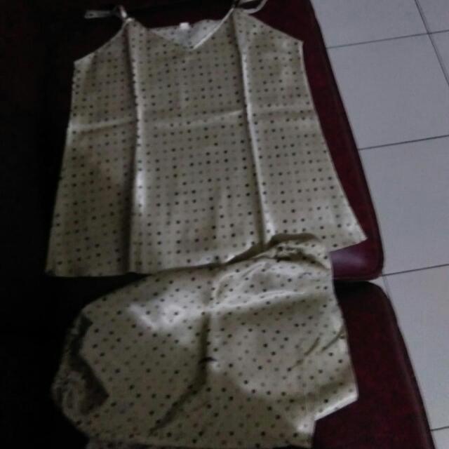 Dijual Bju Tidur Cln Pendek
