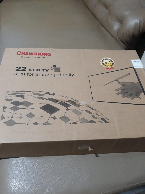 Dijual LED tv Changhong 22 inc