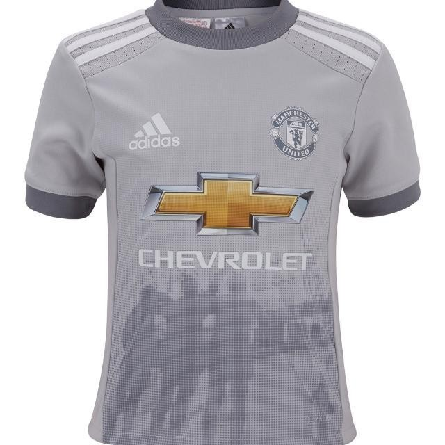 size 40 032d3 f3b18 Brand New Authentic Adidas Manchester United 17 /18 Fan Design 3rd Kit Size  M Jersey