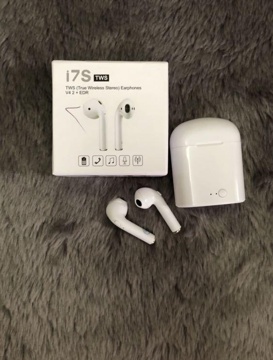 Earphone Bluetooth TWS i7s