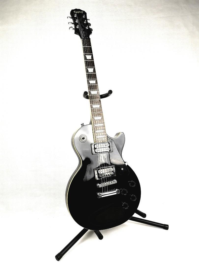 REDUCED PRICE *** Epiphone Les Paul Standard Black (Seymour