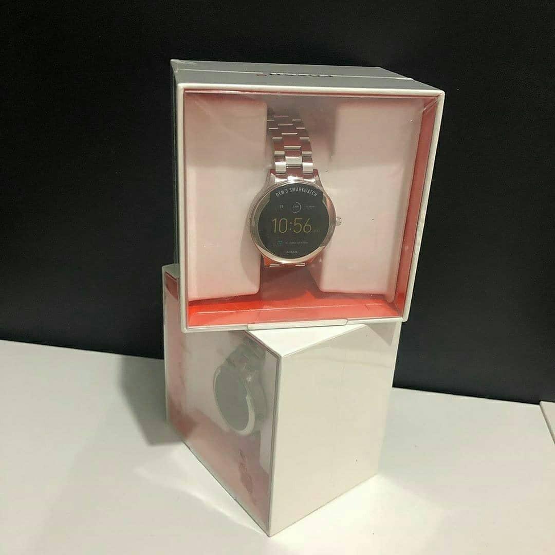 Fossil#FTW6003Gen 3 Smartwatch Venture Silver Stainless Steel , Diameter 4.2CM