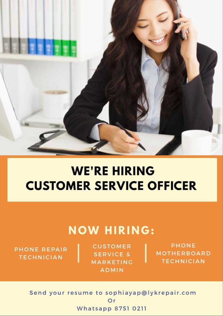 Full Time Sales Admin, Customer Service, training provided