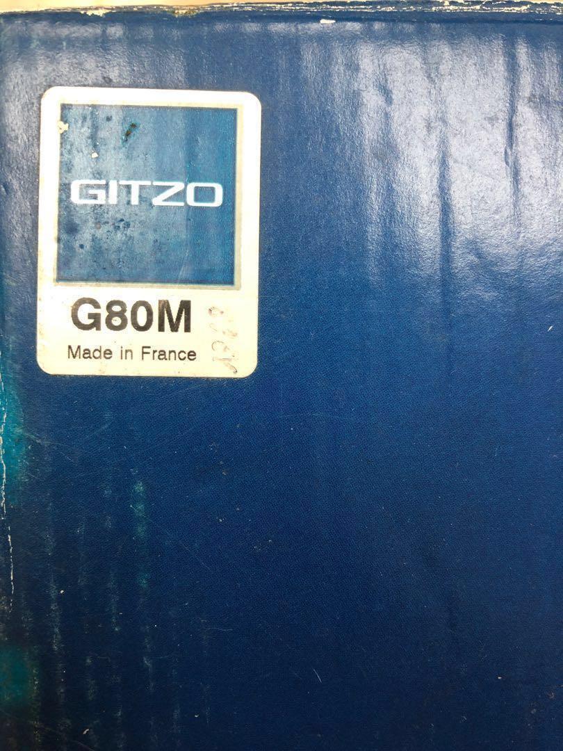 GITZO 80週年限量版腳架(新淨)