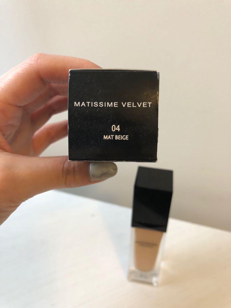 Givenchy Matissime Velvet Fluid Foundation N04 Mat Beige