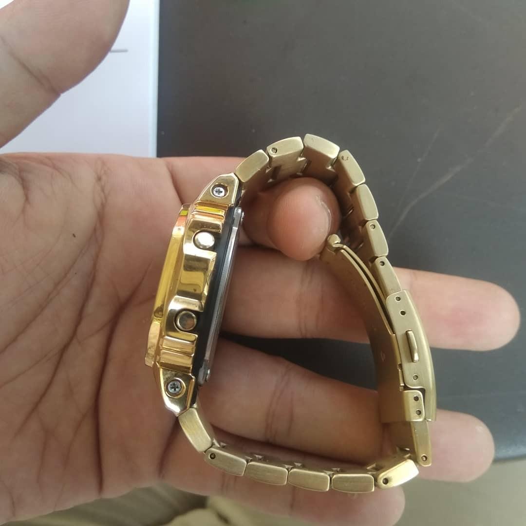 G-Shock DW-5600e BNB Custom Gold