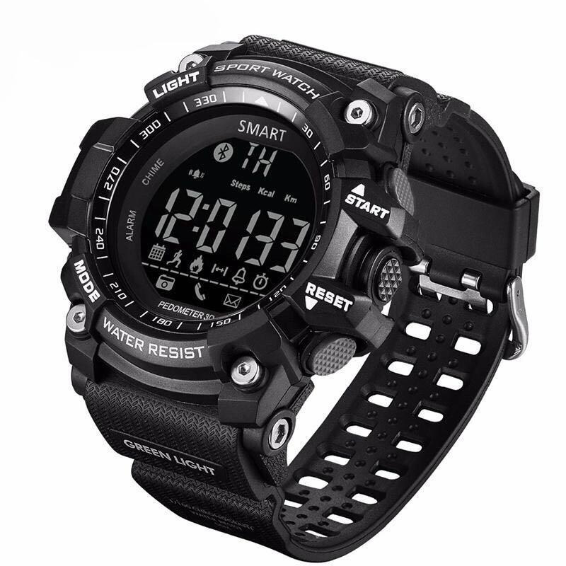 G-Shock inspired 100% ORI EX16 Bluetooth Smartwatch Waterproof Fitness Tracker Watch Android iOS