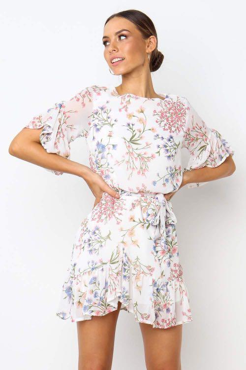 Indikah (Petal & Pup) Wishful Dress in White - AU Size 6