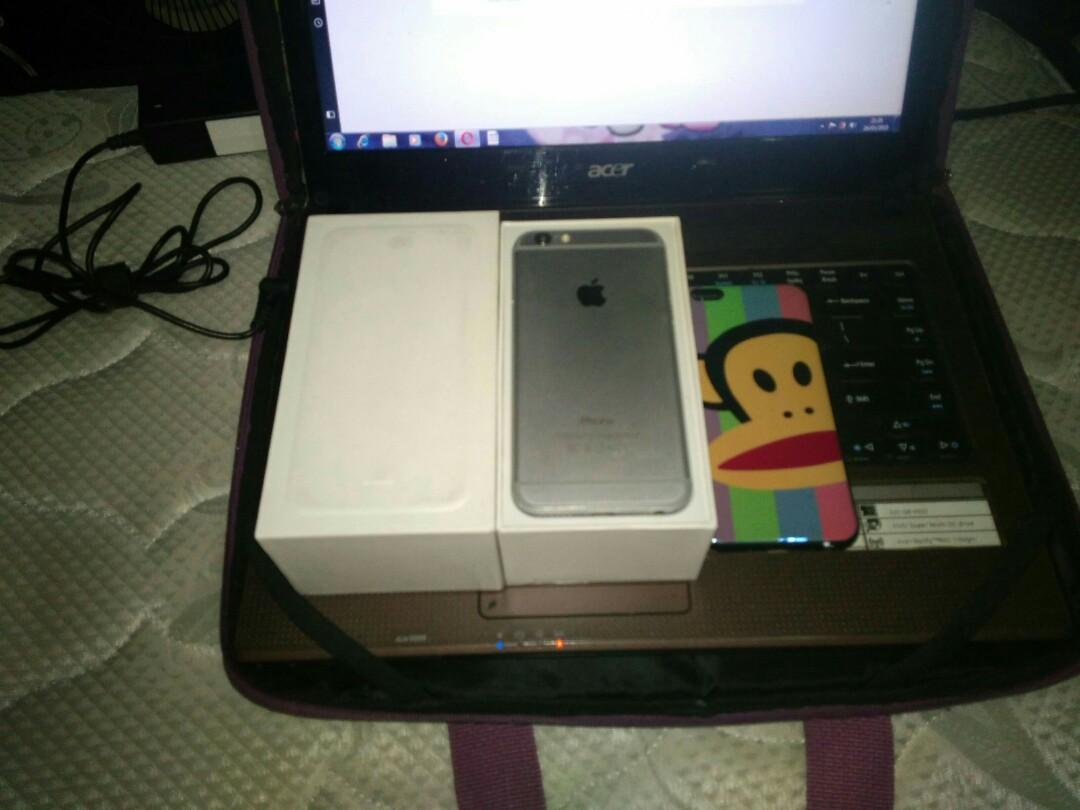iPhone 6 BU BUDAYAKAN MEMBACA