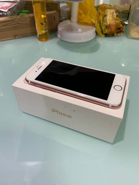 Iphone 7 Rosegold - 128gb
