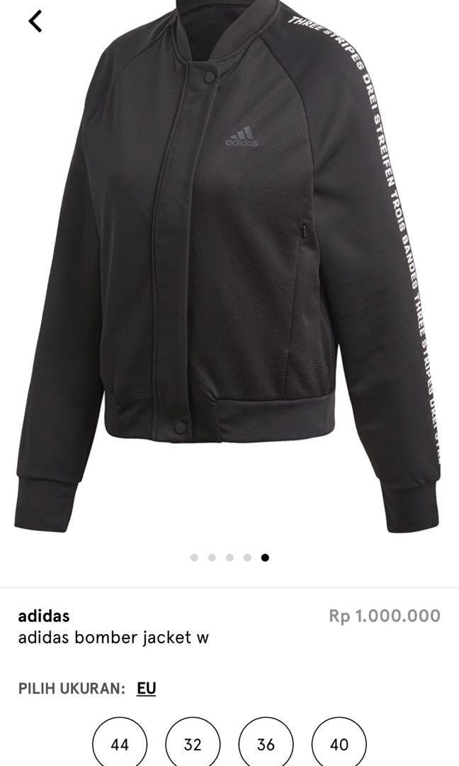 Jaket Bomber Adidas