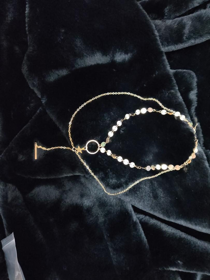 Kalung stack gold