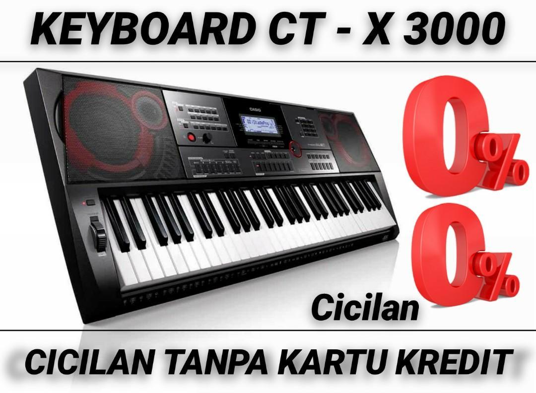 Keyboard CT X 3000 Bisa Kredit Tanpa CC Bunga 0%