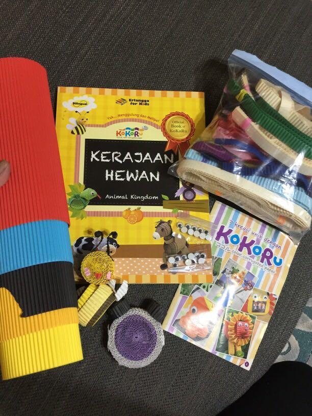 #prelovedwithlove Kokoru Book & kokoru corrugated paper