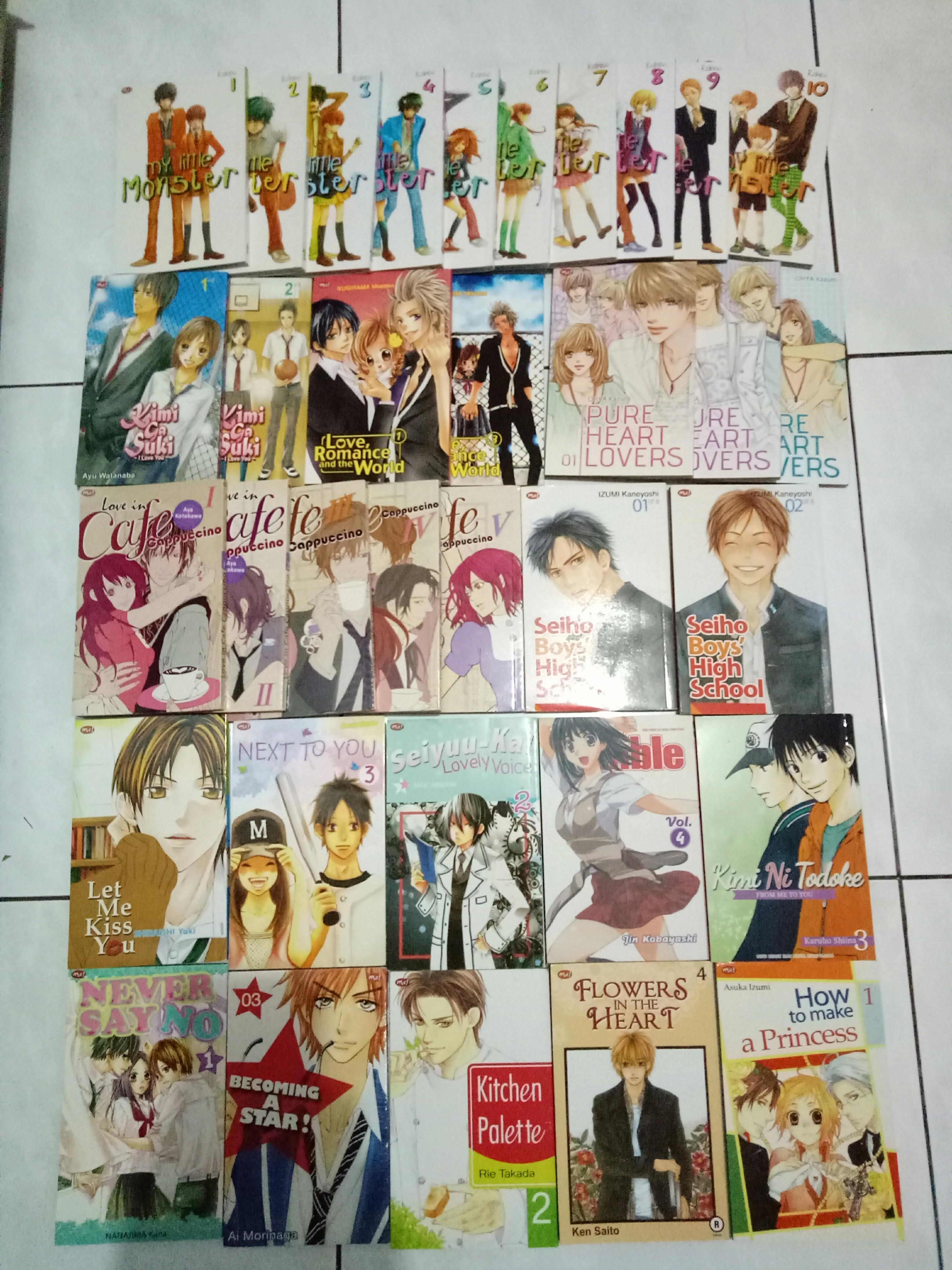 Komik bekas shoujo manga