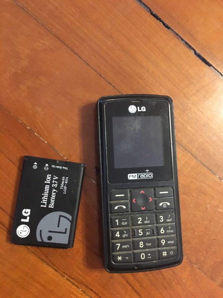 LG 手提電話
