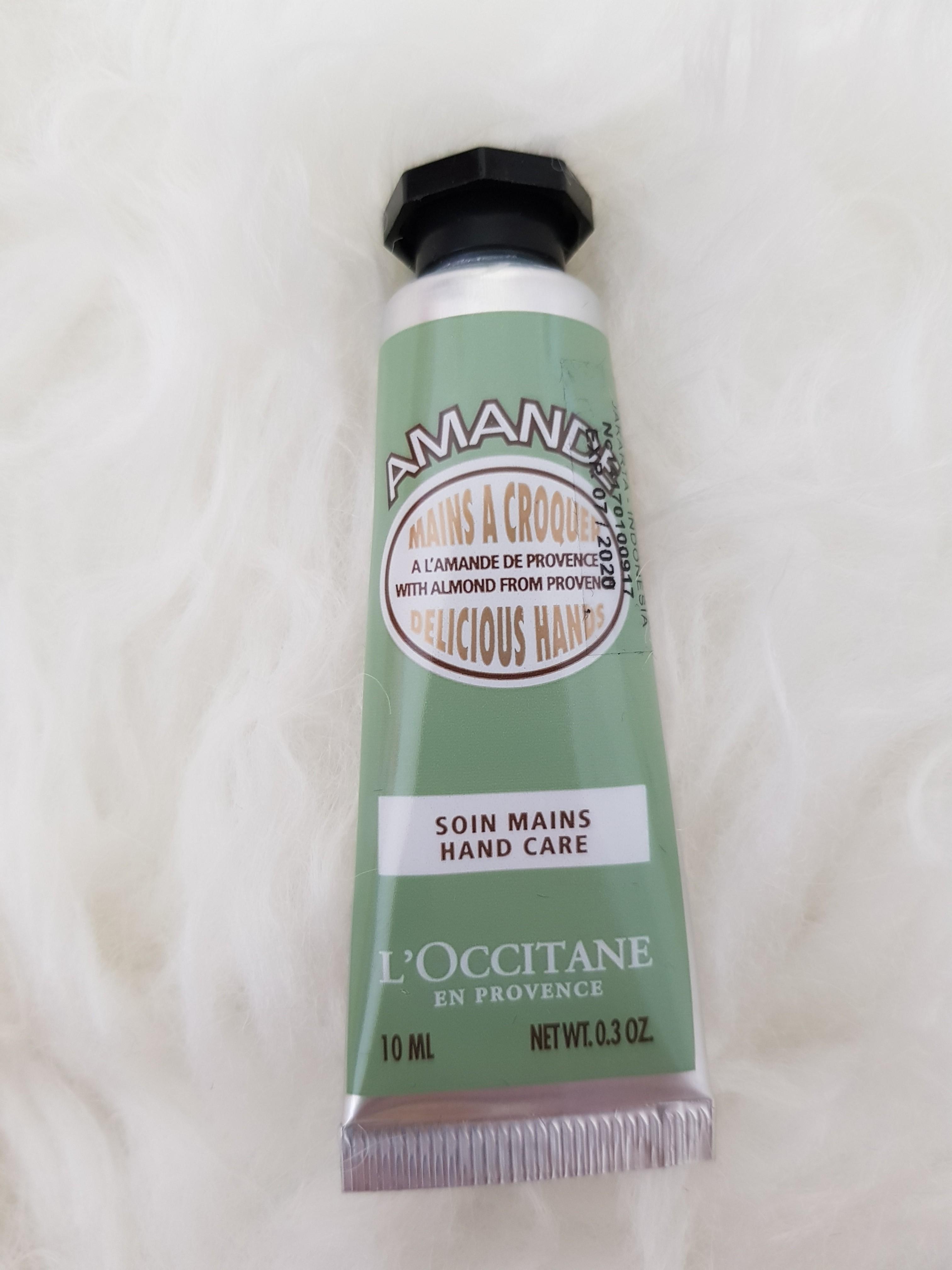 Loccitane Amande Hand Care 10ml Travel Size