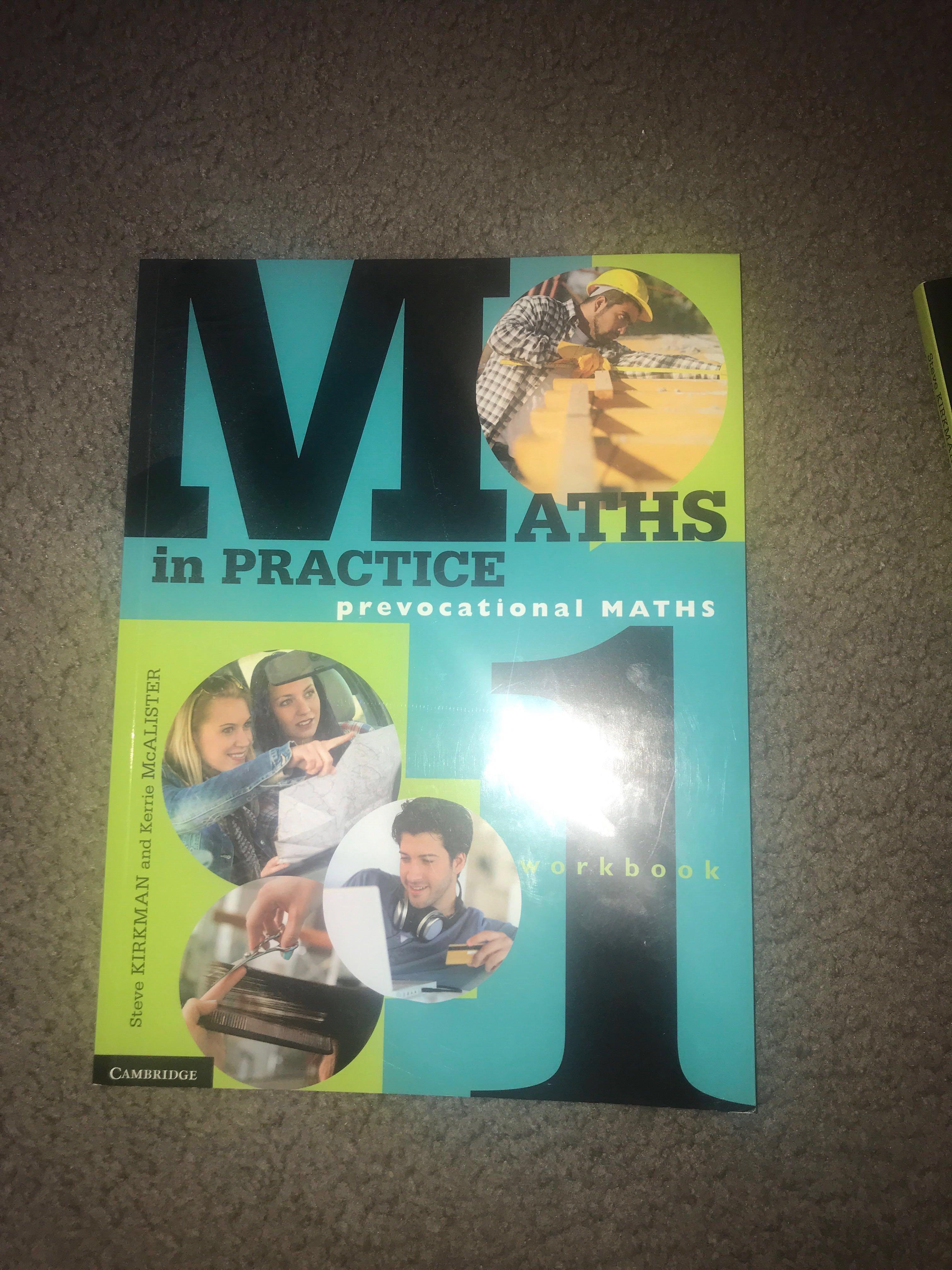 Maths In Practice Prevocational Maths Work book 1&2  ( Cambridge)