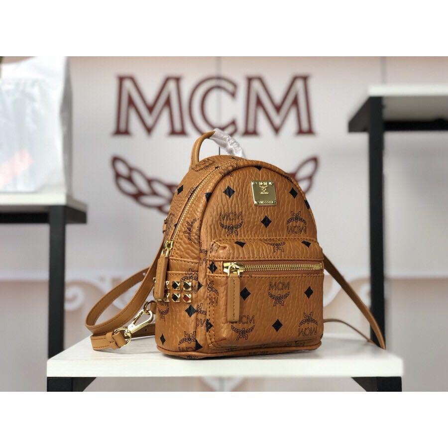 MCM Mini Backpack Authentic