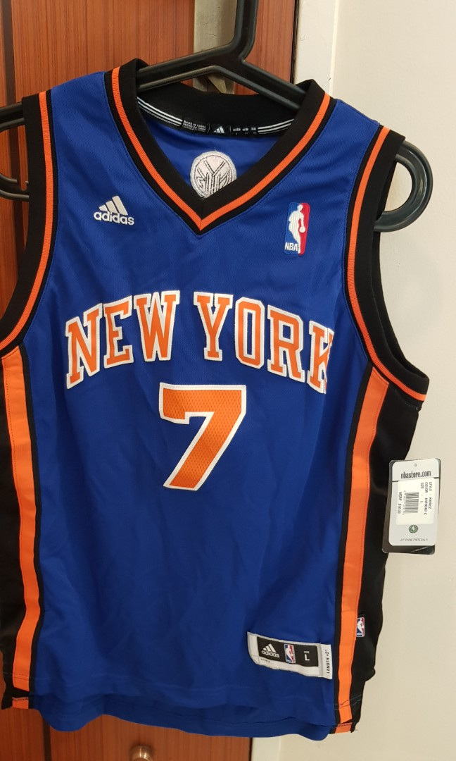 on sale 00e9d 4a034 NBA Jersey carmelo anthony basketball youth large