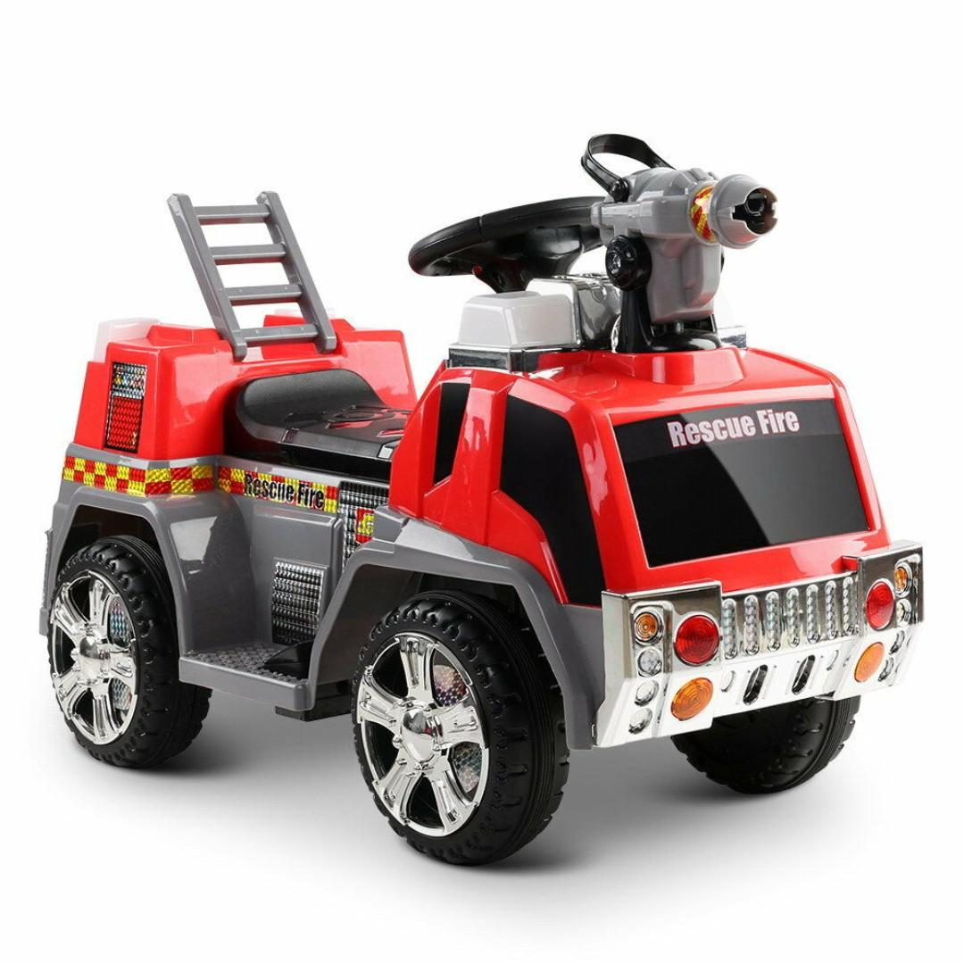 New | Fire Truck Kids Ride On Car | Red | Free Shipping