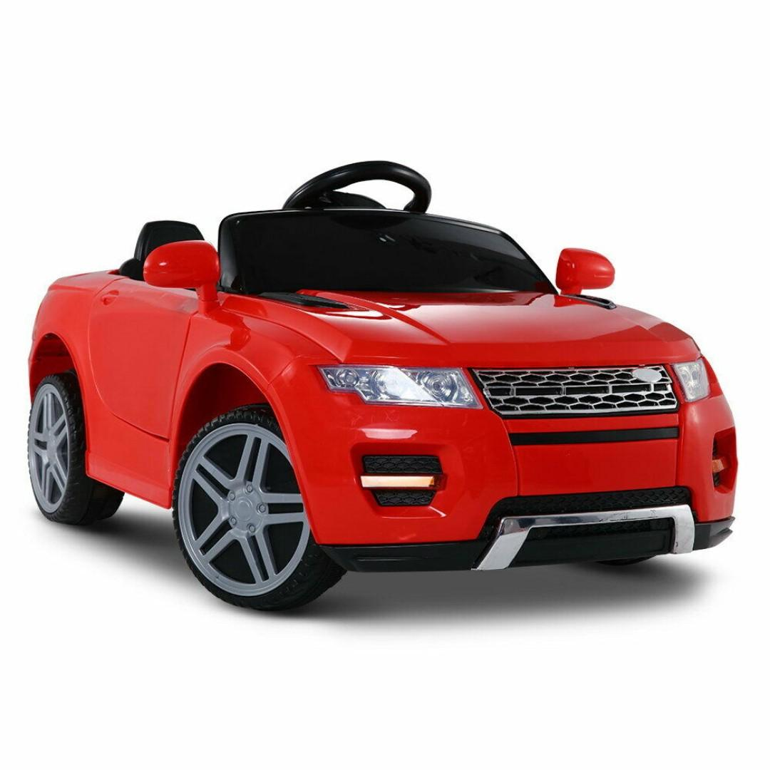 New | Range Rover Evoque Inspired Kids Ride On Car | Red