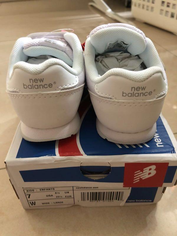 New Balance嬰幼童白波鞋