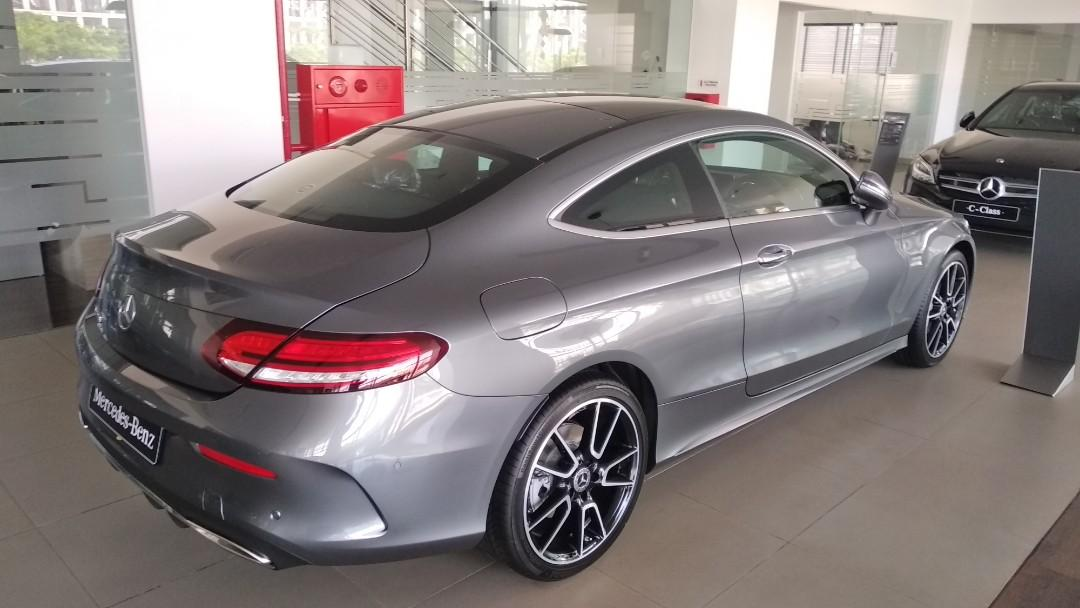 New C 300 Coupe AMG Line