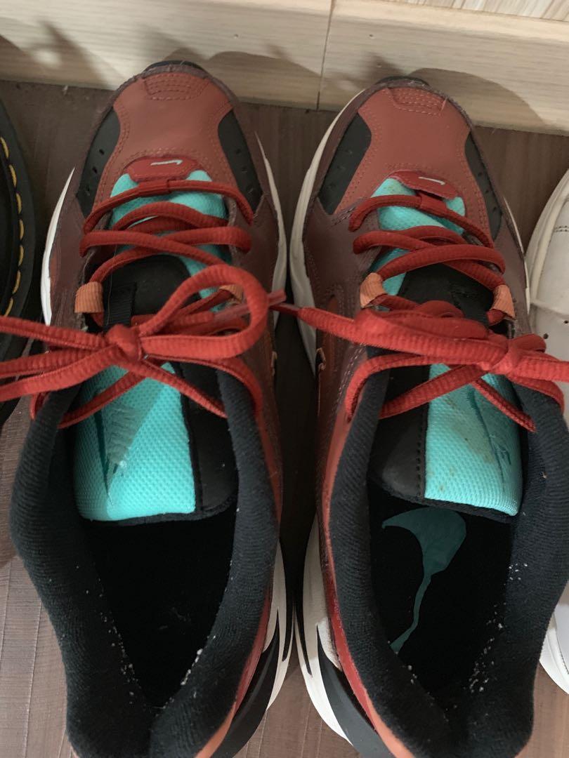 Nike m2k 24.5cm 紅磚色